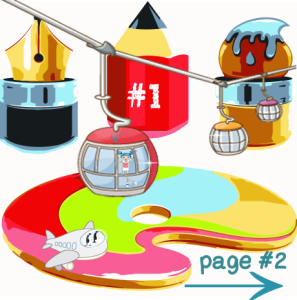 Custom Page tabs by Pansylee VanMeteren Muse
