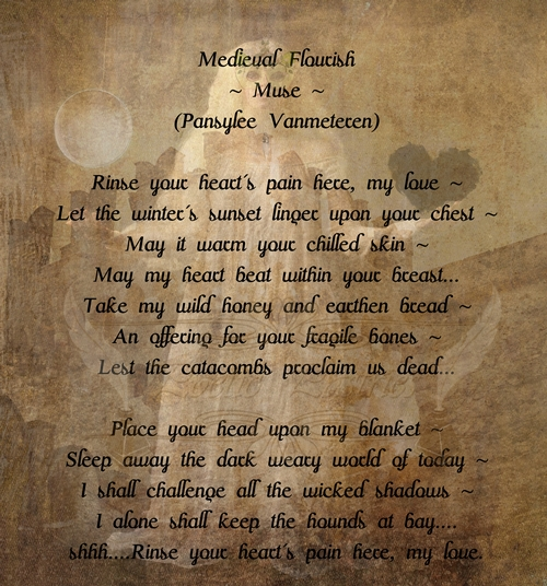 Poetry Sample Celtic Styling