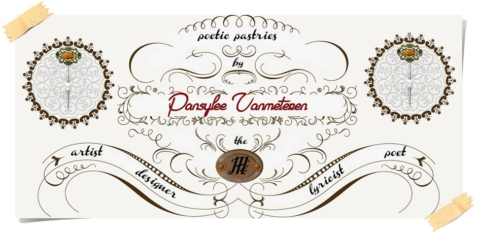 Pansylee VanMeteren artist, illustrator, designer, lyricist and poet - The Muse of Poetic Pastries -